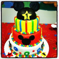 Jeremy's 1st birthday cake