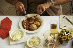 BIERGARTEN - regionale Speisen geniessen Beer Garden, Food Menu