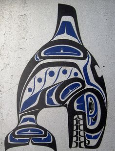 Inuit killer whale tattoo designs orca whale by for Native american tattoo artist seattle