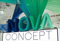 String Installation, Nova, Concept, Design