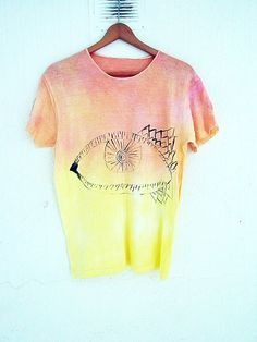 armarioenruinas by etsy Tie Dye T Shirts, Casual Tops For Women, Tie Dyed, Diy Fashion, Womens Fashion, Casual Outfits, T Shirts For Women, Scrapbooking, Ideas