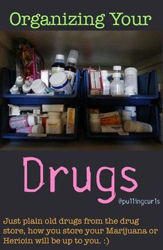 Home organization ideas are so tricky considering each area of your home. This DIY tour gives you products and ideas to get organized! Medicine Storage, Medicine Organization, Organization Station, Household Organization, Storage Organization, Storage Ideas, Organizing Ideas, Medicine Cabinet, Organize Medicine