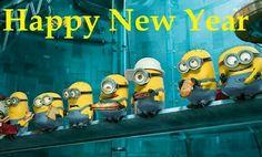 Happy new year by minion