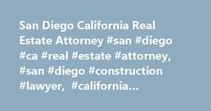 San Diego California Real Estate Attorney #san #diego #ca #real #estate #attorney, #san #diego #construction #lawyer, #california #contracts #attorney http://puerto-rico.remmont.com/san-diego-california-real-estate-attorney-san-diego-ca-real-estate-attorney-san-diego-construction-lawyer-california-contracts-attorney/  # Experience If you need a lawyer, you need one with experience. Richard Boyer has been representing clients since 1987, in literally hundreds of cases. His past and present…