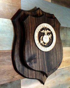 Wooden base shield taxidermy trophy Mounting Plaque OAK  WALNUT 5L
