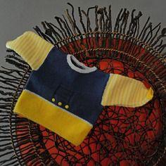 Layette pull coton naissance neuve tricotée main