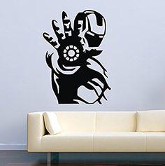 USA Decals4You | Superhero Wall Decals Ironman Vinyl Decor Stickers MK0420