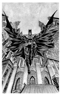 Batman from Gotham's ground by Ibraim Roberson