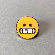 Emoji Toothmoji pin