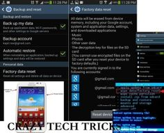 How to Hard Reset Samsung Galaxy Note 3 without losing any data