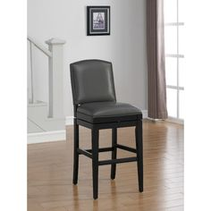 Found it at Wayfair - Fortuna Swivel Bar Stool with Cushion