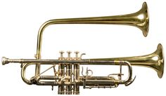 MH-One, Double bell trumpet Brass Musical Instruments, Brass Instrument, Jazz Music, Sound Of Music, Trumpet Players, Music Machine, French Horn, Saxophones, Sheet Music