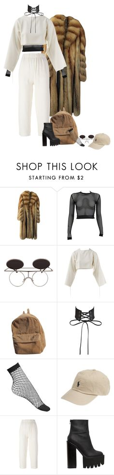 """""""Unbenannt #771"""" by liveblvck ❤ liked on Polyvore featuring PAM, Erika Cavallini Semi-Couture and Jeffrey Campbell"""