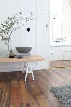 Beautiful floors and minimal style