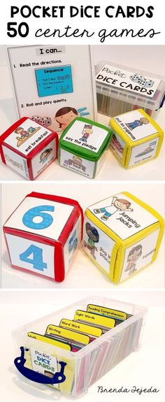 Do you need fun, easy-to-prep-and-store centers? This resource has 50 games to cover skills in word work, sight words, writing, reading comprehension, math & more! Includes games for guided reading and whole-group instruction. Differentiate easily during your literacy and math center blocks! #literacy #centers #sightwords #wordworkcenters #readingcomprehension