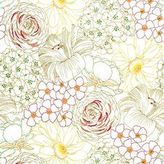 Emma's Garden - Big Blooms in Blush