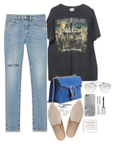 """Untitled #1766"" by samikayy76 ❤ liked on Polyvore featuring Brandy Melville, Yves Saint Laurent, Gucci, Kristin Cavallari, Prada, Herbivore, MANGO, Casetify and Givenchy"