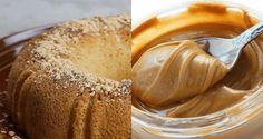 bolo com pasta de amendoim low carb