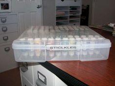 Scraproom: Stickles Storage