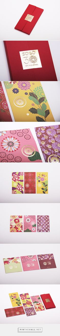 SOGO 30th Anniversary Red Packets Design on Behance - created via https://pinthemall.net