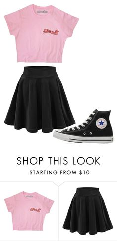 """Untitled #198"" by cruciangyul on Polyvore featuring Converse"