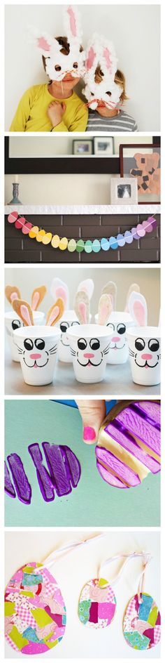 13 DIY Easter Crafts To Do With Your Kids: