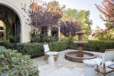 These homes have their own escapes with stunning courtyards worthy of a palace.