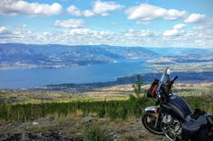 KVR overlooking Kelowna, BC. August 2015