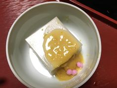 Looks ordinary but by far the best tofu pudding I've had #yuzumiso #kaiseki #arimaonsen by cheeryzupls