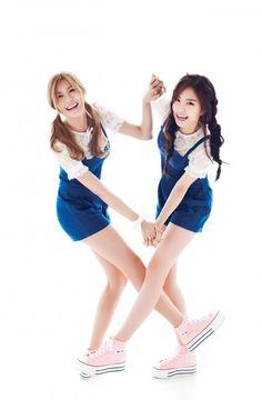 Hayoung & Naeun ♡ A Pink ♡ 10asia