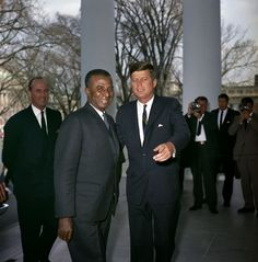 JFK and the president of Togo