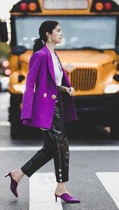 Gut Ideas Fashion Clothes Lila Jacke, Lila Kleidung, Farbe Des Jahres,  Modenschau, Mode