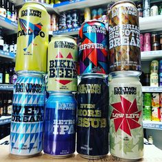 8 new cans from @eviltwinbrewing in stock now