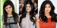 Charting the 17-year-old's ever-changing beauty look.