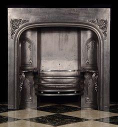 Antique Victorian Fireplace Insert Grate, GORGEOUS! Vintage Fireplace, Victorian Fireplace, Fireplace Inserts, Antiques, Antiquities, Antique, Old Stuff