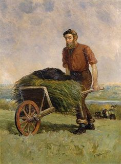 Harvest, 1884 :: Edward Mitchell Bannister