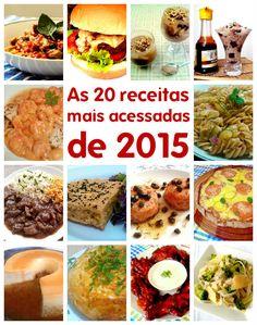 Top 20: as receitas mais acessadas de 2015