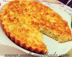 Receita de Torta Salgada Proteica de Frango ~ Mulher Malhada