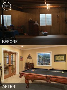 Before U0026 After Basement Naperville   Sebring Design Build