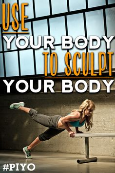Use your body to sculpt your body with this workout #PIYO www.teambeachbody.com/nanbrainard