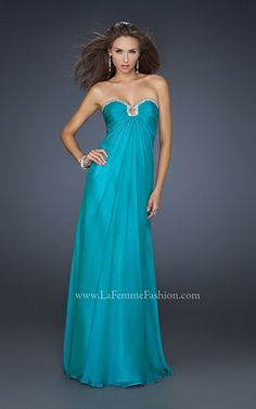 Prom    #prom #dress #teal #fashion