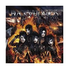 Fallen Angels, a song by Black Veil Brides on Spotify Black Veil Brides Album, Black Veil Brides Members, Black Viel Brides, Andy Biersack, Band Wallpapers, World On Fire, Andy Black, Emo Bands, Band Posters
