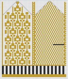 Også et par fine votter: Clara Stickar Vantene Stig, gratis… Knitted Mittens Pattern, Fair Isle Knitting Patterns, Crochet Mittens, Knitting Charts, Knitted Gloves, Knitting Socks, Knitting Stitches, Baby Knitting, Knit Stranded