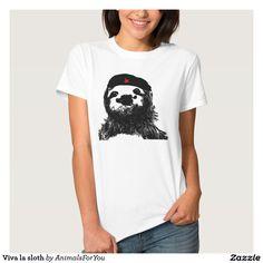 Viva la sloth shirt