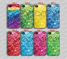 Infinity sparkly iPhone case