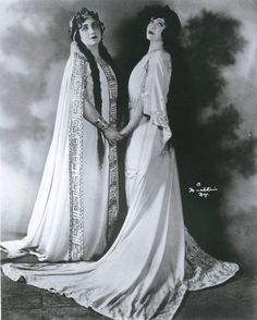 Rosa Ponselle in the title role of Bellini's Norma. Photograph by Herman Mishkin. Marion Telva as Adalgisa