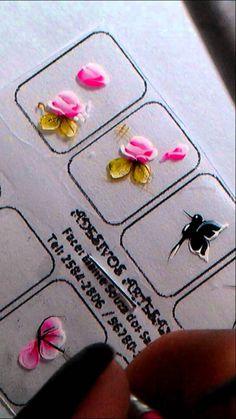 Passo a Passo borboleta carga dupla Elaine Souza