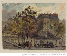 Place St Sulpice  Guinbard, 1880