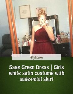 """""""Sage Green Dress, this is the subject of this title... Hey my dear follower. We have patched up these 4 Sage Green Dress pins from 451+ different images for you. While doing this, Our Editors paid attention to the fact that there are designs that can be popular in this year and many more. Please click on the 'Read More' button to get the rest of the content associated to the Sage Green Dr... White Satin Dress, Satin Dresses, Formal Dresses, Sage Green Dress, My Girl, Girls Dresses, Rest, Content, Costumes"""