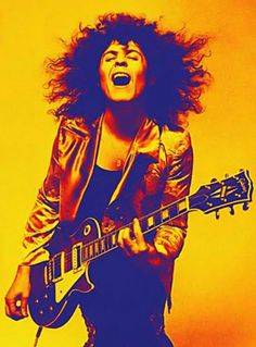 Marc Bolan, The Electric Warrior. My first crush. :D